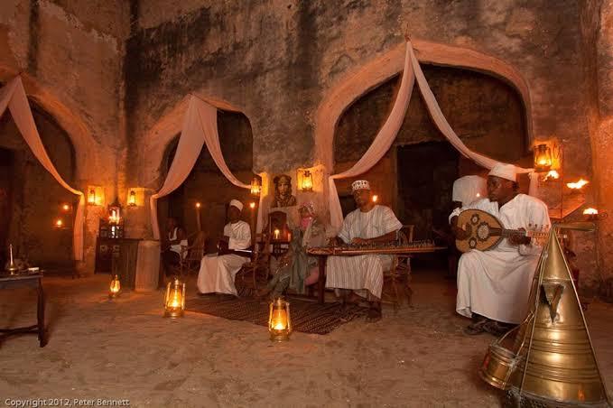 Mtoni palace ruins Zanzibar