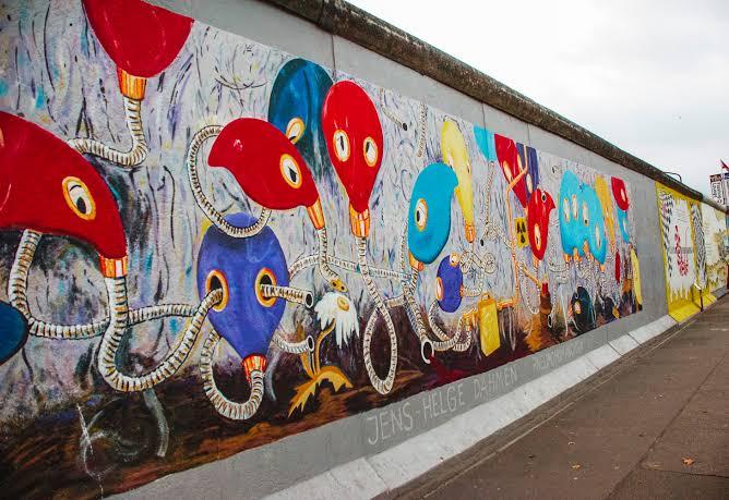 Check out Africa's longest graffiti mural in Cotonou, Benin Republic