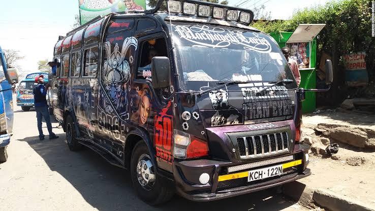 Nairobi's Matatu Bus Rides, A Pimped up Culture like no other