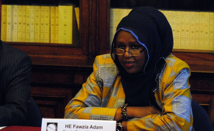 Fawzia Yusuf The Only Somalian Female President Candidate, says it's time for women to lead in Somalia