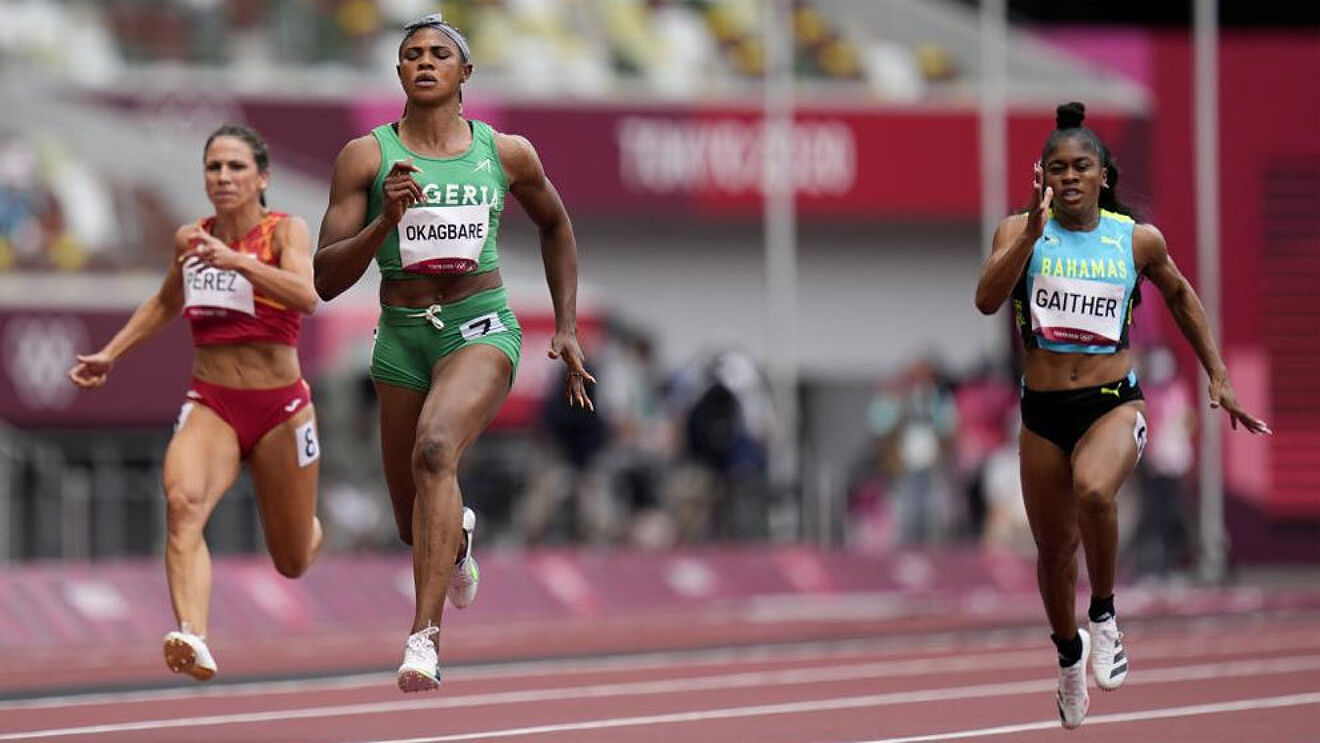For Testing Positive To Human Growth Hormone, Nigeria's Olympian Blessing Okagbare Gets Suspended From The Olympics