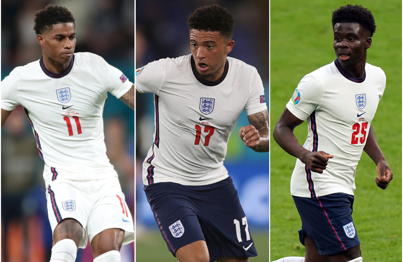 Portsmouth FC has sacked three of its players for racist messages against three black footballers after they lost Euro 2020
