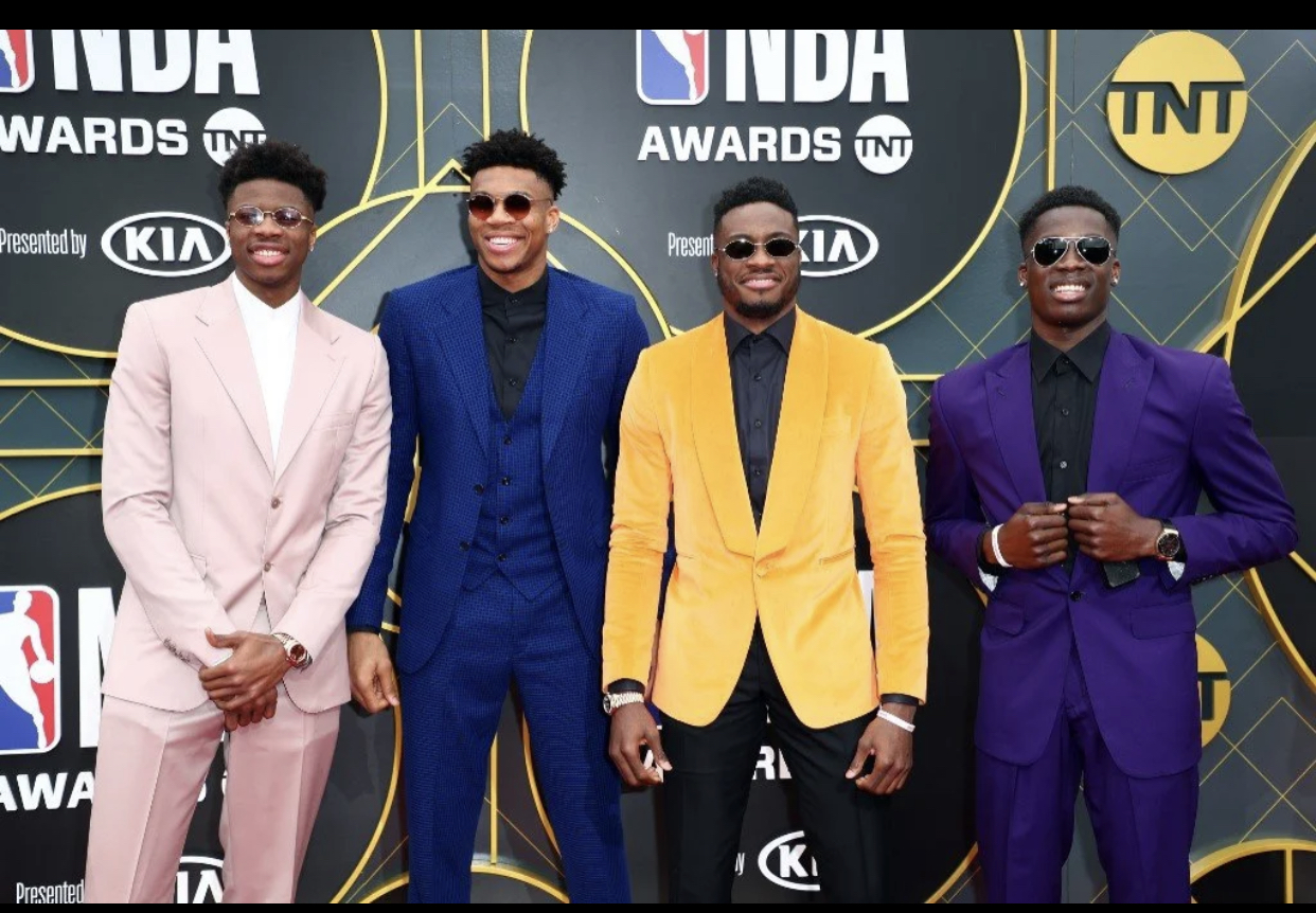 Nigerian Antetokounmpo siblings become first trio of brothers to win NBA titles