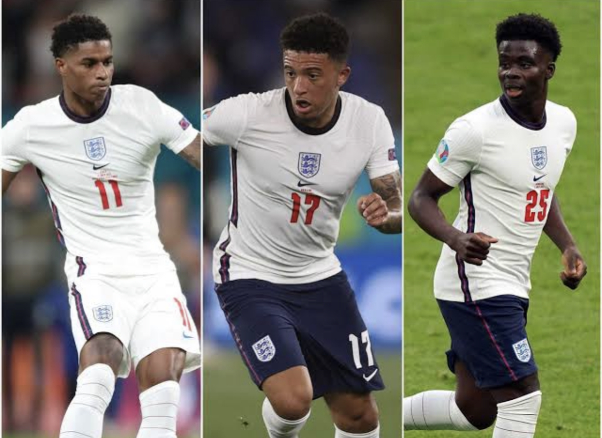 After England Lost The Euro 2020 Soccer Tournament, Black England Players became the Target Of Racist Abuse
