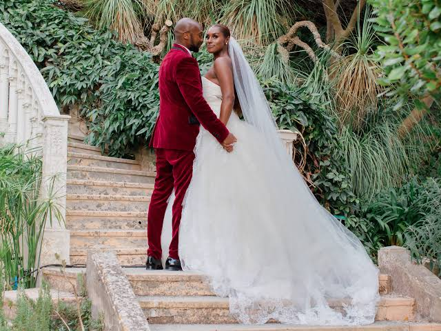 Issa Rae Surprises her Fans with wedding photos as she marries Louis Diame in an Intimate Wedding Ceremony in France