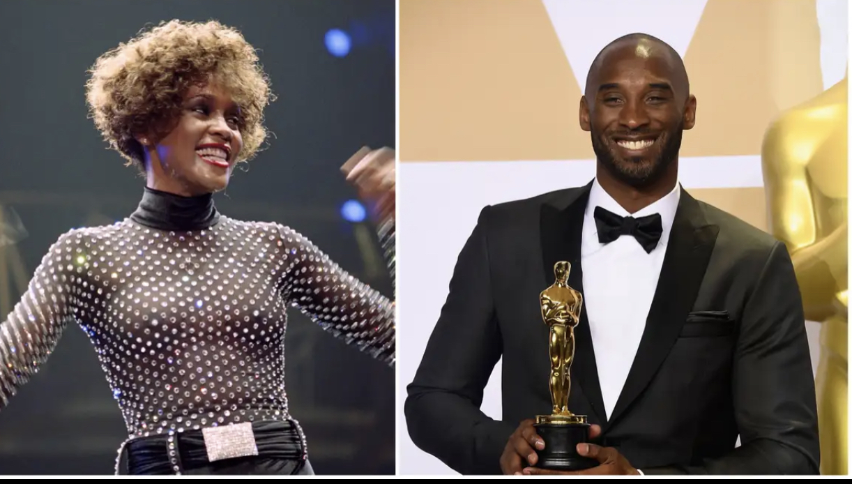 Kobe Bryant and Whitney Houston, to Be Featured in New ABC Primetime Docuseries