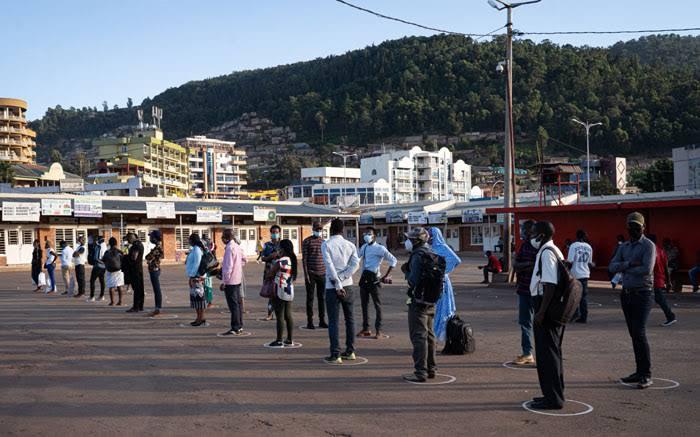 The Capital City of Kigali is under total lockdown as Rwanda battles third wave