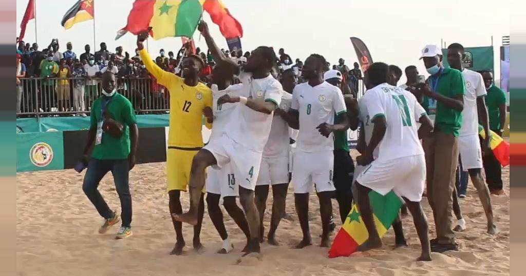 Beach Soccer World Cup: To reach Semi-Finals, Senegal beats Brazil