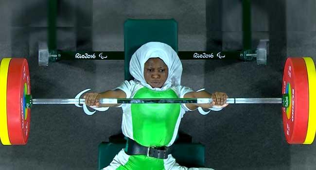 Nigeria's powerlifter Latifat Tijani wins first gold at Tokyo Paralympics