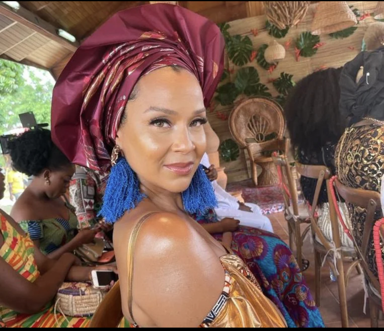 After being enstooled as Queen Mother in 2019, LisaRaye Shares Her Favorite Spots To Eat, Party, And Visit In Ghana