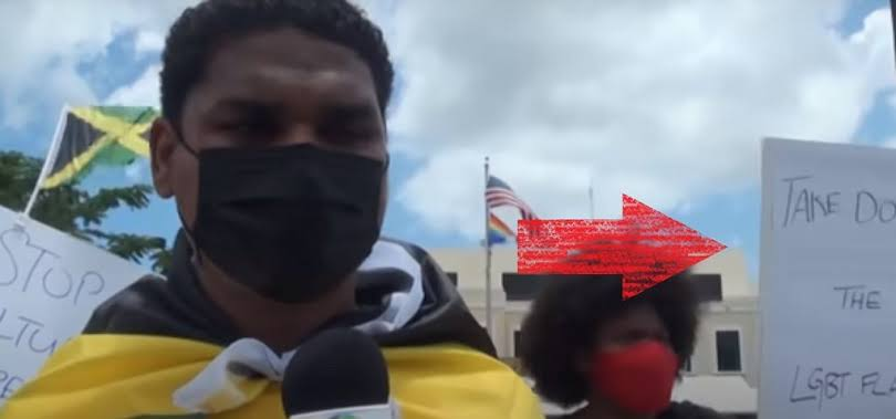 Jamaicans demand removal of LGBTQ pride flag from US embassy in Jamaica
