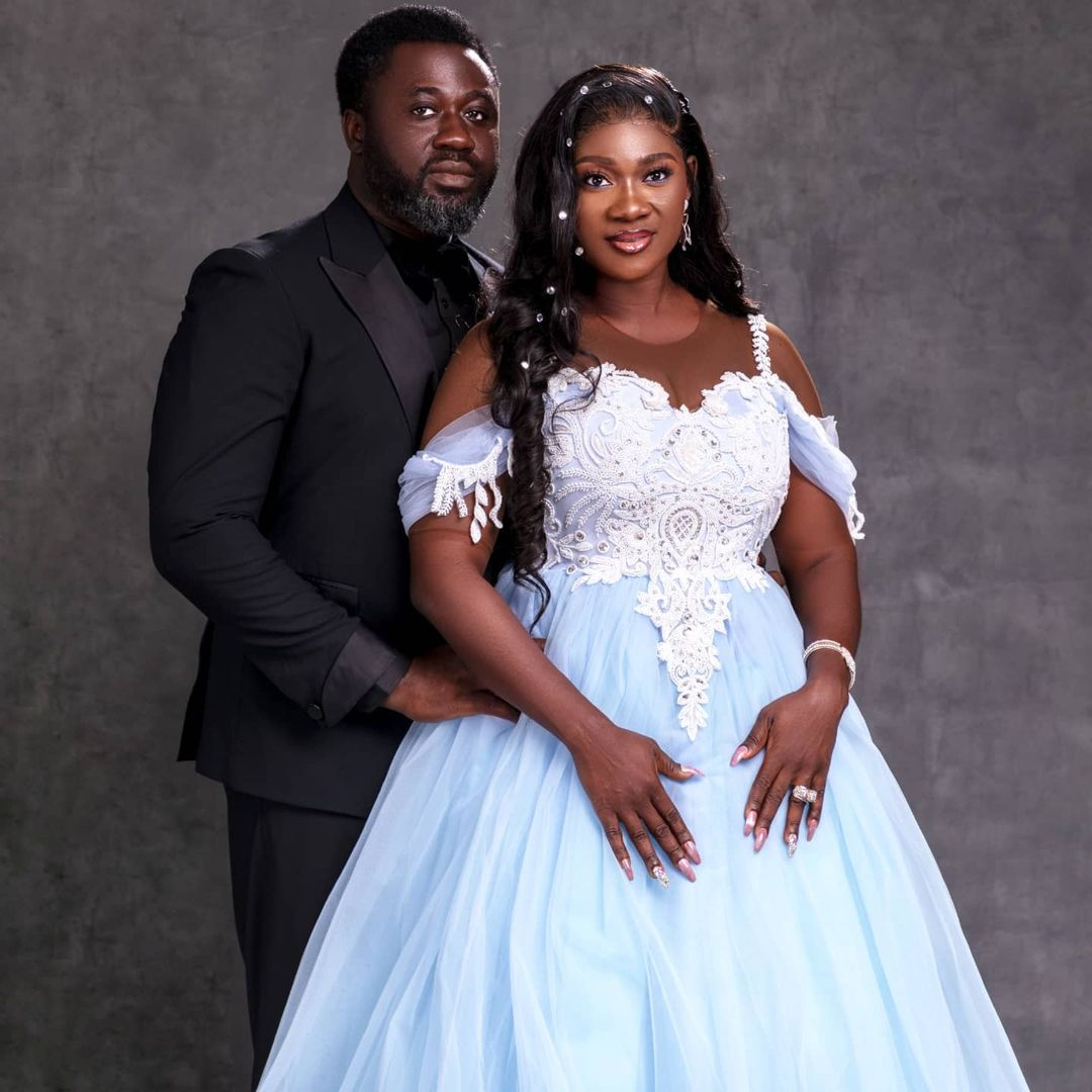 Nigerian Star Actress, Mercy Johnson-okojie, celebrates 10 years anniversary of her marriage with blissful photos